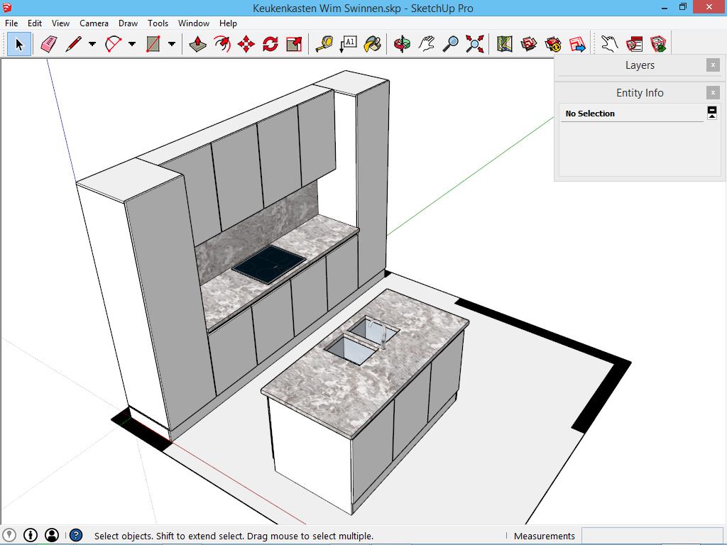 Wat is sketchup for Tekening badkamer maken